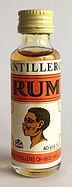 Rum Rhum Ron Antillero Rum Miniature