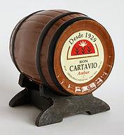 Rum Rhum Ron Cartavio Ambar Miniature