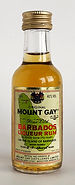 Rum Rhum Ron Mount Gay Fine Old Miniature