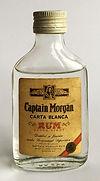 Rum Rhum Ron Captain Morgan Carta Blanca Miniature