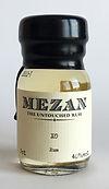 Drinks by the Dram Tasting Sample Rum Mezan XO Miniature