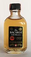 Rum Rhum Ron Bacardi Gold Reserve Miniature
