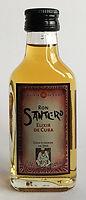 Rum Rhum Ron Santero Elixir de Cuba Miniature