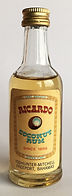 Rum Rhum Ron Ricardo Coconut Miniature