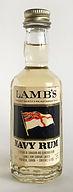 Rum Rhum Ron Lamb's Navy Rum Miniature
