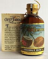 Rum Rhum Ron Sangster's Old Jamaica Coconut Miniature