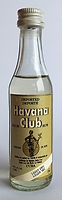 Rum Rhum Ron Havana Club Light Dry Miniature
