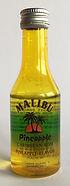 Rum Rhum Ron Malibu Pineapple Miniature