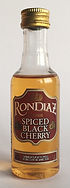 Rum Rhum Ron Rondiaz Spiced Black Cherry Miniature