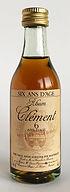 Rum Ron Rhum Clement 6 ans D'Age Miniature