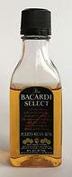 Rum Rhum Ron Bacardi Select PET Miniature