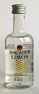 Rum Rhum Ron Bacardi Limon PET Miniature