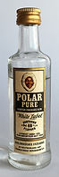 Echter Übersee Polar Rum White Label Miniature