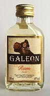Rum Rhum Ron Galeon Gold 100ml Miniature