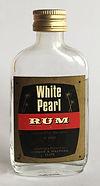 Rum Rhum Ron White Pearl Miniature