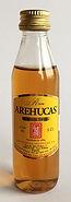 Rum Rhum Ron Arehucas Carta Oro Miniature