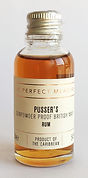 The Perfect Measure Tasting Sample Pusser's Rum Miniature
