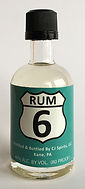 Rhum Ron CJ Spirits 6 Rum Miniature