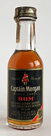 Rum Rhum Ron Captain Morgan Black Label Miniature