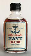 Rhum Ron Blue Anchor Navy Rum Miniature