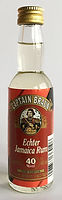 Rhum Ron Rum Captain Braun Miniature