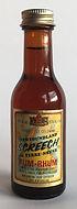 Rum Rhum Ron Newfounland Screech de Terre-Neuve Miniature