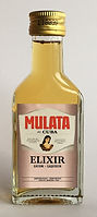 Rum Rhum Ron Mulata Elixir Miniature