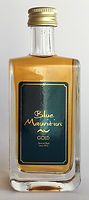 Rum Rhum Ron Blue Mauritius Gold Miniature