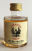 Rum Rhum Ron Pirates Grog Aged Honduran Miniature