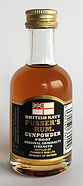 Ron Rhum Pusser's British Navy Rum Gunpowder Proof Miniature