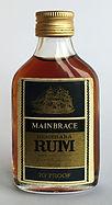 Ron Rhum Rum Mainbrace Demerara Miniature