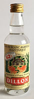 Rum Ron Rhum Dillon 62 Blanc Agricole Miniature