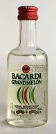 Rum Rhum Ron Bacardi Grand Melon PET Miniature