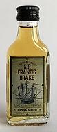Rhum Ron Rum Sir Francis Drake Miniature