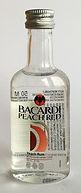 Rum Rhum Ron Bacardi Peach Red PET Miniature