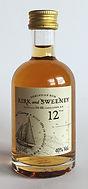Tasting Sample Kirk and Sweeney 12yo Rum Miniature