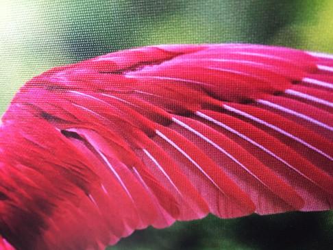 UV tisk světelných obrazů na textilní plátno