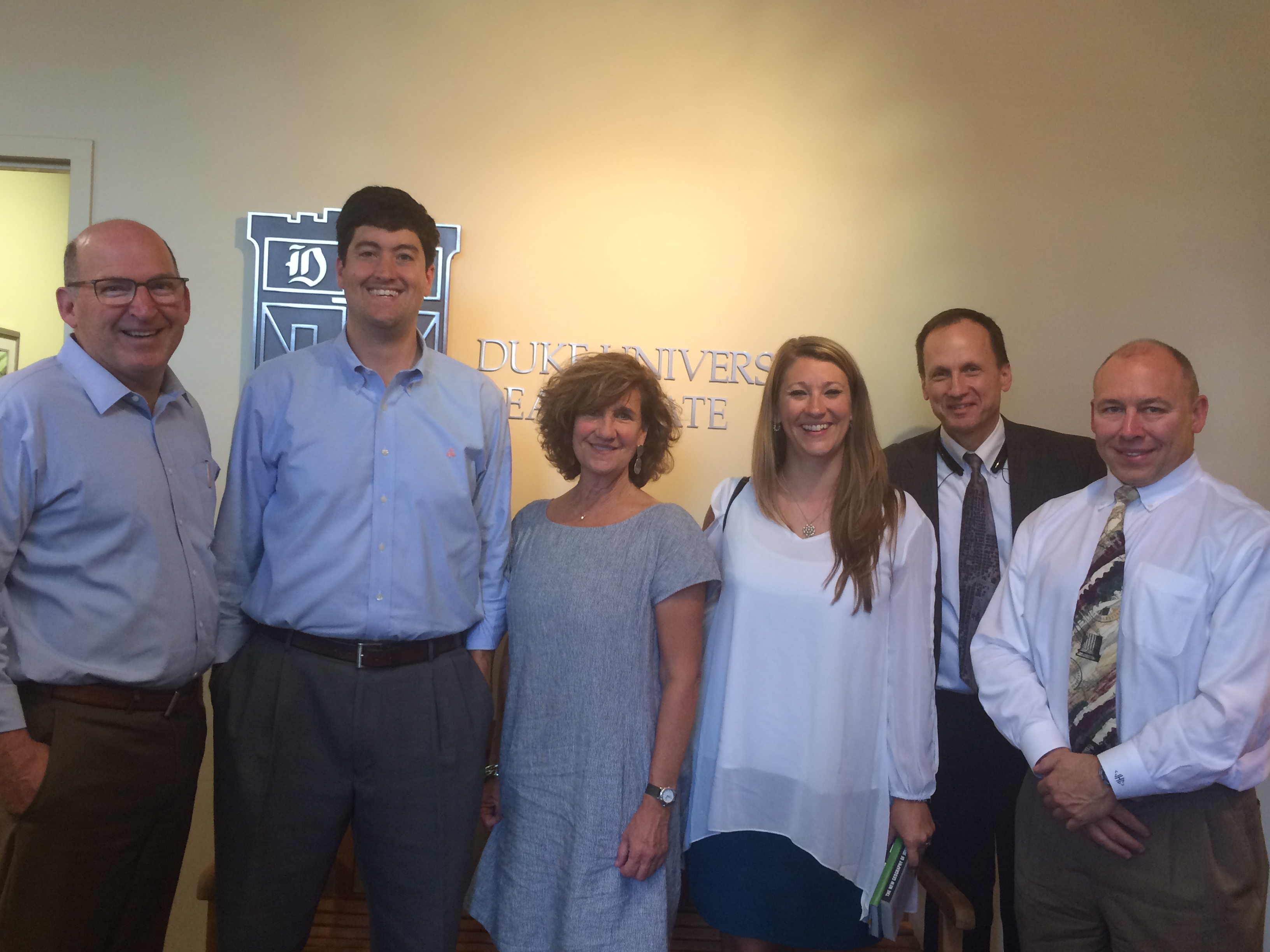 Longwood Foundation Visit to Duke Real Estate