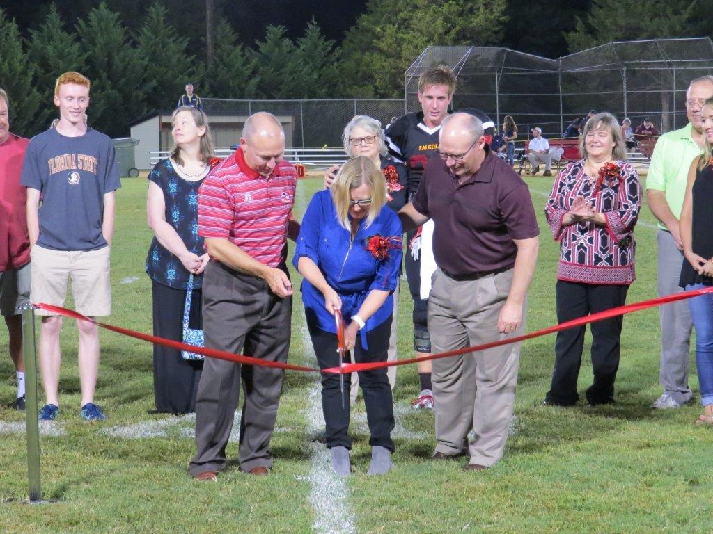 Fuqua Bleacher Dedication