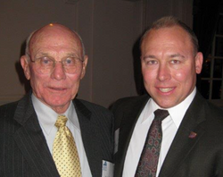Joe and his father Ralph Hines