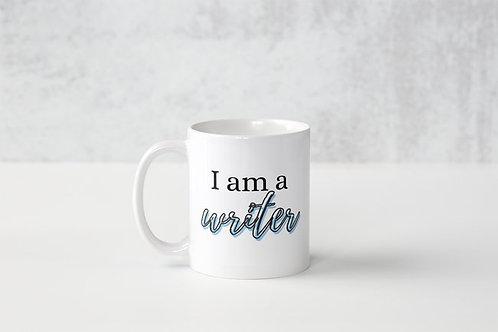 I Am A Writer Mug (Different Colours)