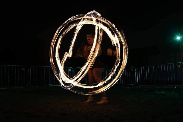 Lunah Fire Poi
