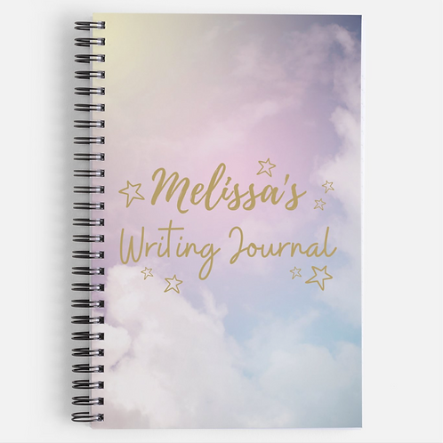 Personalised Galaxy Notebook (Different Choices)