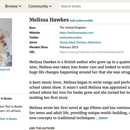 Growing Your Goodreads Author Following
