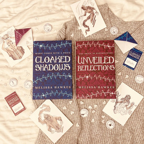 Cloaked Shadows and Unveiled Reflections preorder gifts