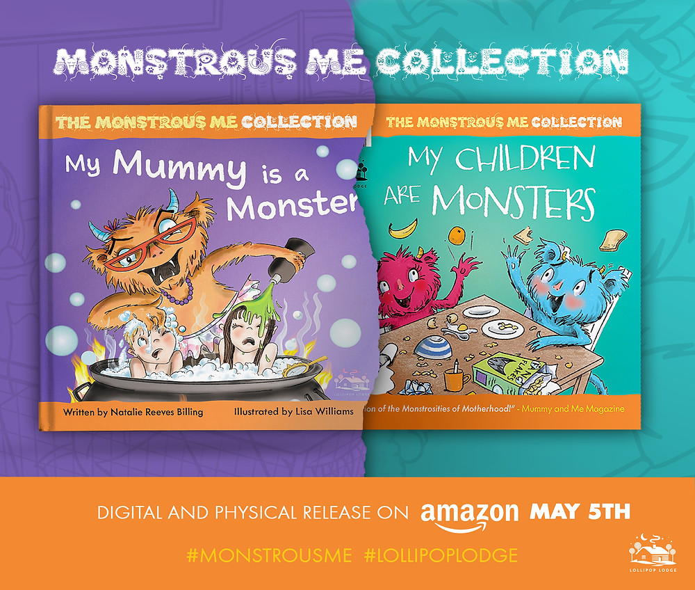 My Mummy is a Monster by Natalie Reeves-Billing