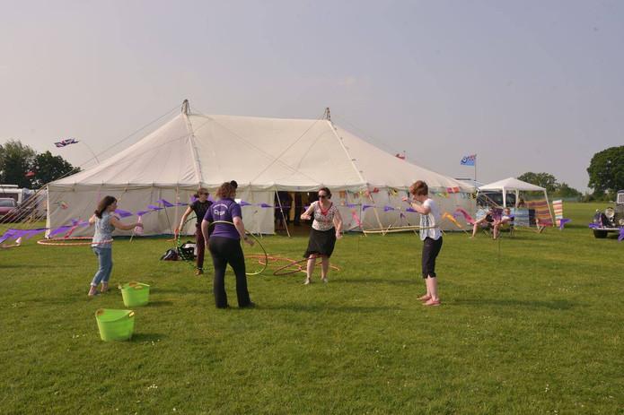 Violet Teaching Hoops