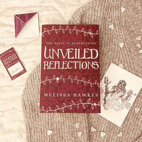 Unveiled Reflections Hardback and Preorder Gifts