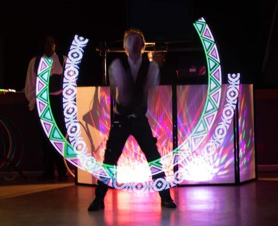 Glow Worm LED Poi