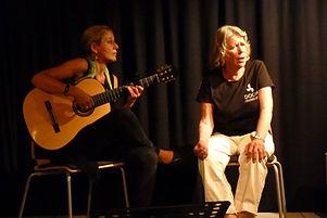 Sweden, SGLS 2018 Eva Norée and Elena Ca